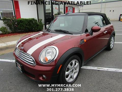 2009 MINI Cooper for sale in Brentwood, MD