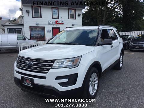 2016 Ford Explorer for sale in Brentwood, MD