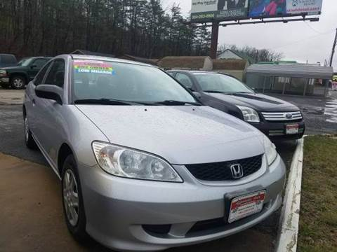 2005 Honda Civic for sale in Berkeley Springs, WV