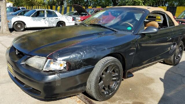 1996 ford mustang gt 2dr convertible in dallas tx mega for Mega motors inc duncanville tx