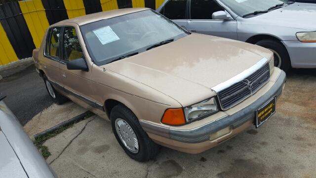 1990 dodge spirit 4dr sedan in dallas tx mega motors inc for Mega motors inc dallas tx