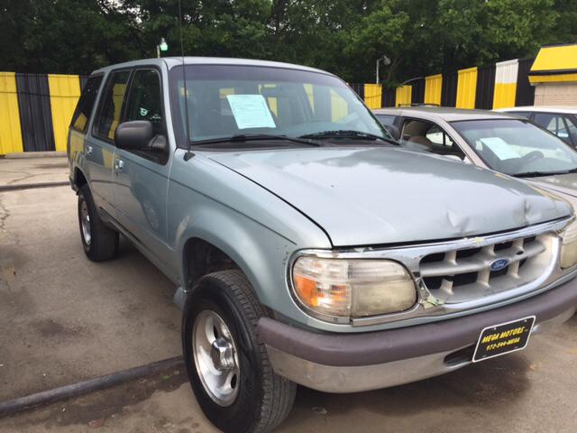 1996 ford explorer xl 4dr suv dallas tx for Mega motors inc duncanville tx