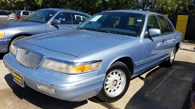 1997 mercury grand marquis ls 4dr sedan in dallas tx for Mega motors inc duncanville tx