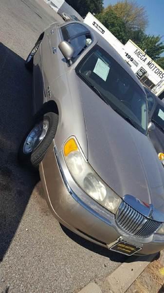 1999 lincoln town car executive 4dr sedan in dallas tx for Mega motors inc duncanville tx