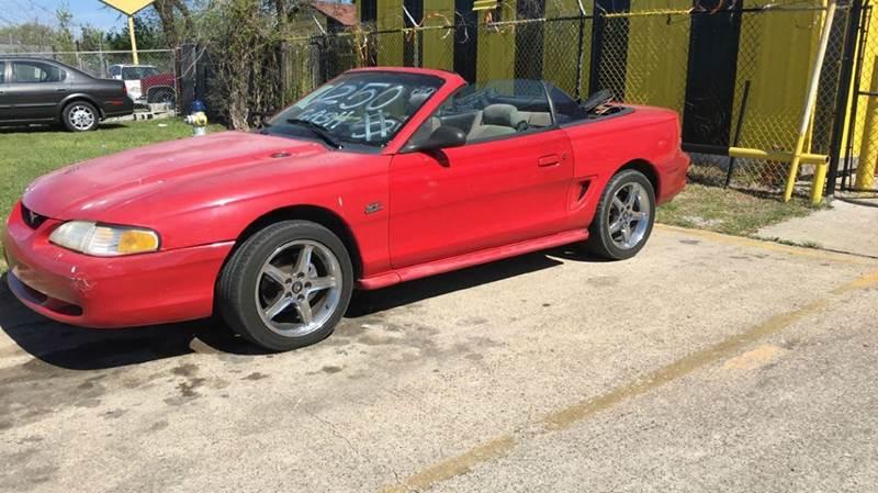 1995 Ford Mustang In Dallas Tx Mega Motors Inc