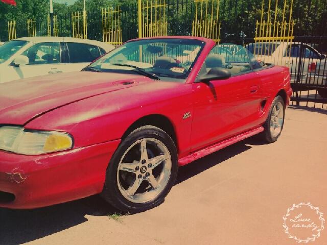 1995 Ford Mustang Gt 2dr Convertible In Dallas Tx Mega
