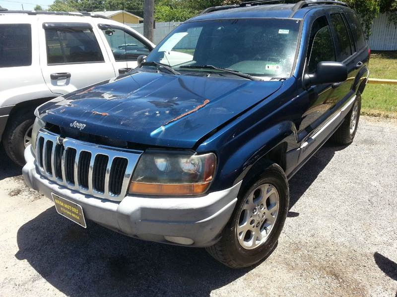 2000 jeep grand cherokee laredo 4dr suv duncanville tx for Mega motors inc duncanville tx