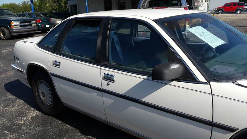 1991 buick regal custom 4dr sedan
