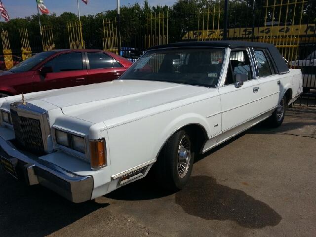 1989 Lincoln Town Car Base 4dr Sedan Dallas Tx