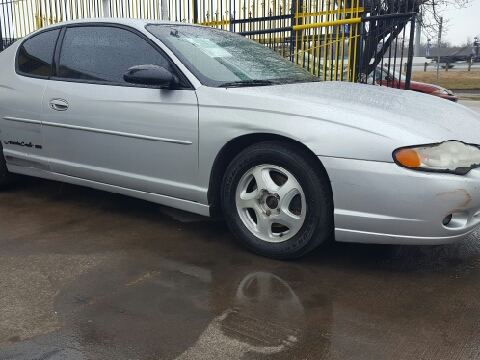 2001 Chevrolet Monte Carlo for sale in Dallas, TX