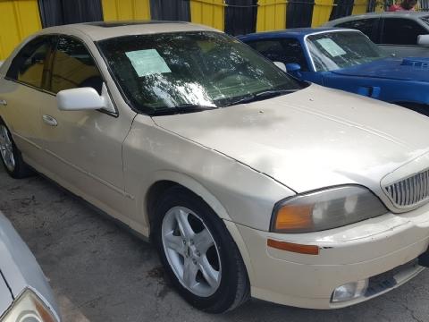 2000 Lincoln LS for sale in Dallas, TX