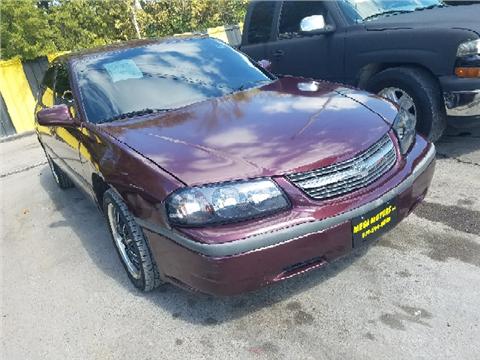 Used 2003 chevrolet impala for sale in texas for Mega motors inc dallas tx