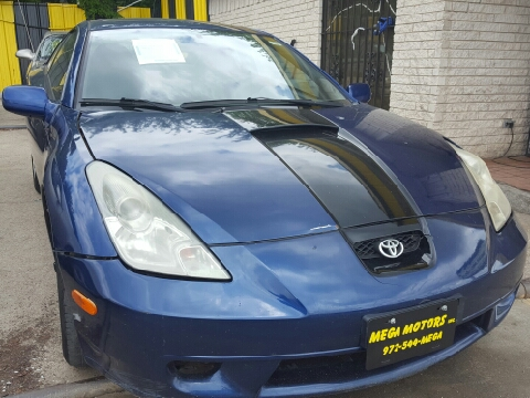 2000 toyota celica for sale for Mega motors inc dallas tx
