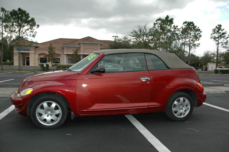 2005 chrysler pt cruiser 2dr touring turbo convertible in lehigh acres fl gas buggies. Black Bedroom Furniture Sets. Home Design Ideas