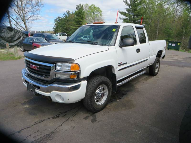 2005 gmc sierra 2500hd sle 4dr extended cab 4wd sb in milton vt hartley auto sales service. Black Bedroom Furniture Sets. Home Design Ideas