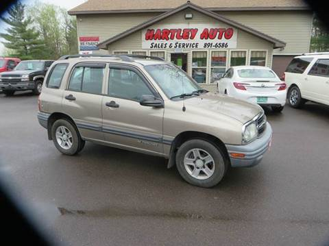 2003 Chevrolet Tracker for sale in Milton, VT