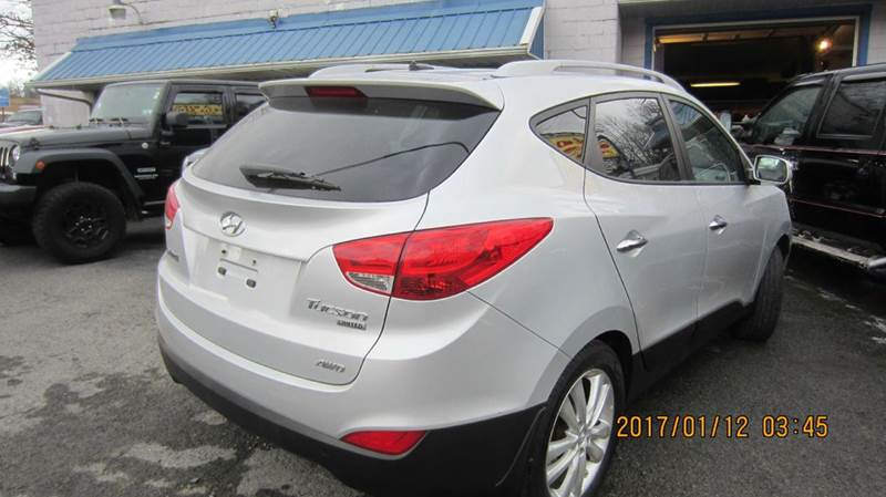 2011 Hyundai Tucson AWD Limited 4dr SUV - Morgantown WV