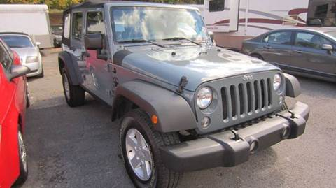 2014 Jeep Wrangler Unlimited for sale in Morgantown, WV