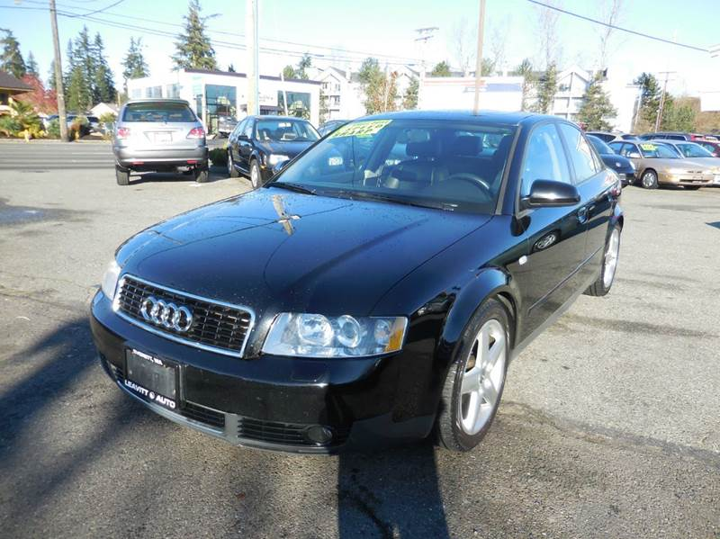 2003 audi a4 1 8t quattro awd 4dr sedan in everett wa. Black Bedroom Furniture Sets. Home Design Ideas