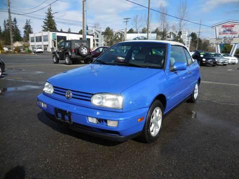 1998 Volkswagen Cabrio for sale in Everett, WA
