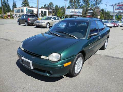 1999 Plymouth Neon for sale in Everett, WA