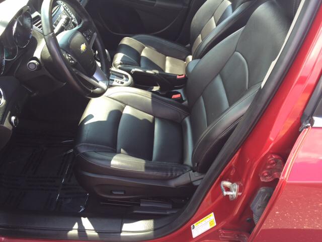 2014 Chevrolet Cruze LTZ Auto 4dr Sedan w/1SJ - Jackson OH