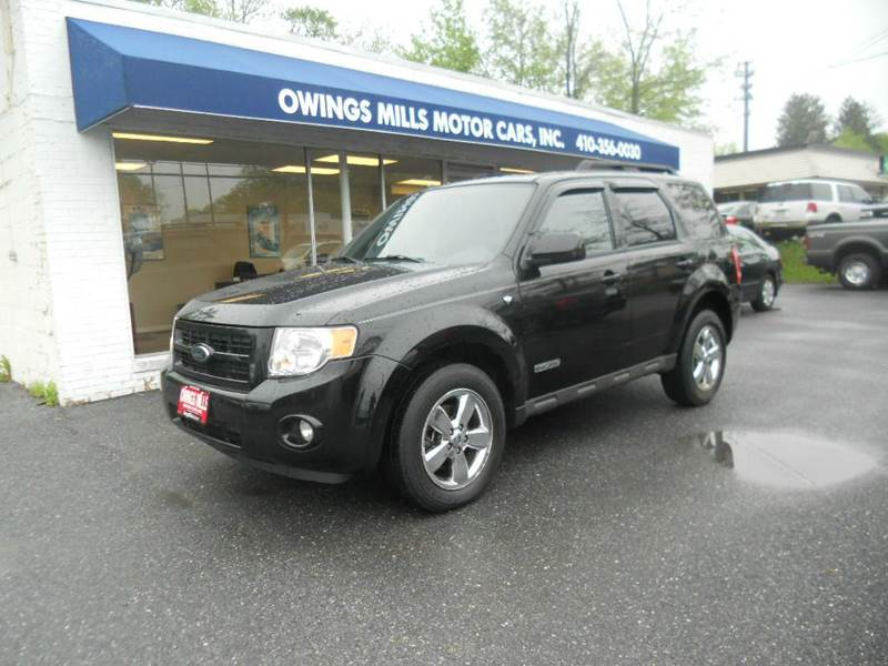 2008 ford escape limited awd 4dr suv in owings mills md for Owings mills motor cars