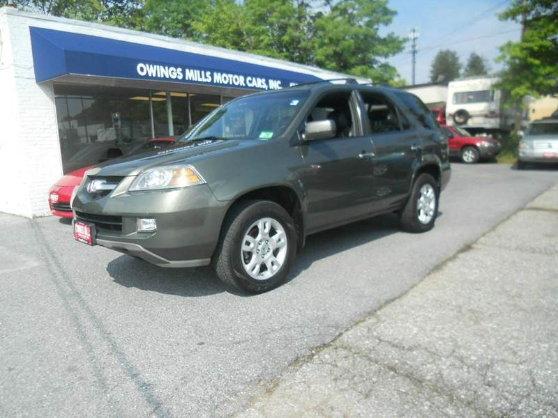 2006 acura mdx awd touring 4dr suv w navi in owings mills