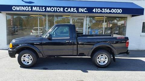 2004 Ford Ranger for sale in Owings Mills, MD