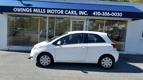 2010 Toyota Yaris for sale in Owings Mills, MD