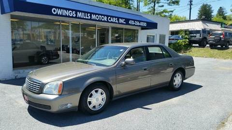 2003 Cadillac DeVille for sale in Owings Mills, MD
