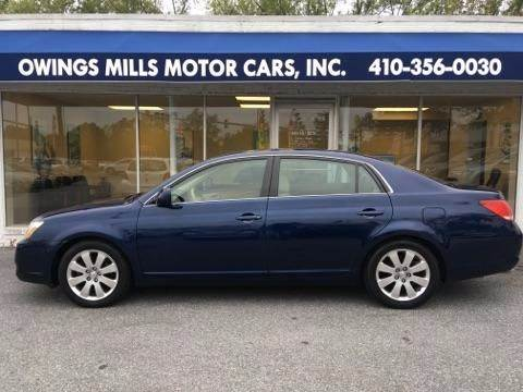 2006 Toyota Avalon for sale in Owings Mills, MD