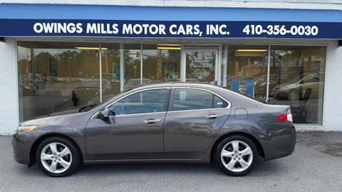 2009 Acura TSX for sale in Owings Mills, MD