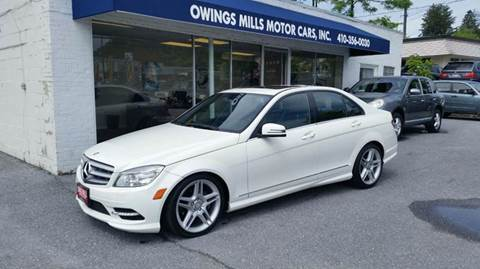 2011 Mercedes-Benz C-Class for sale in Owings Mills, MD