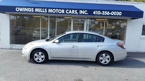 2008 Nissan Altima for sale in Owings Mills, MD