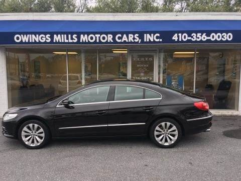 2009 Volkswagen CC for sale in Owings Mills, MD