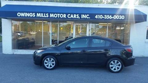 2011 Mazda MAZDA3 for sale in Owings Mills, MD