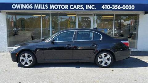 2008 BMW 5 Series for sale in Owings Mills, MD