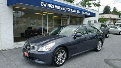 2007 Infiniti G35 for sale in Owings Mills, MD