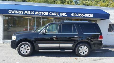 2007 Lincoln Navigator for sale in Owings Mills, MD