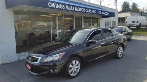 2009 Honda Accord for sale in Owings Mills, MD