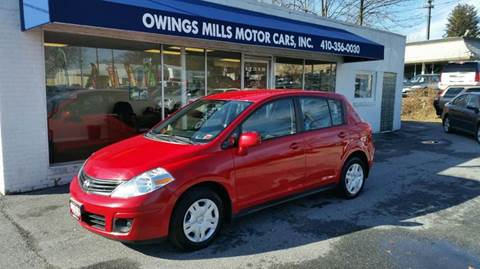 2012 Nissan Versa for sale in Owings Mills, MD