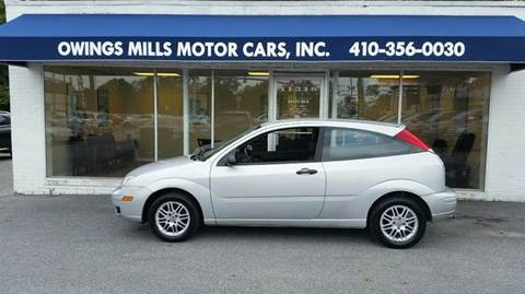 2007 Ford Focus for sale in Owings Mills, MD