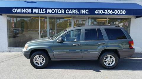 2002 Jeep Grand Cherokee for sale in Owings Mills, MD