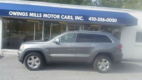 2012 Jeep Grand Cherokee for sale in Owings Mills, MD