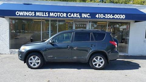 2009 Toyota RAV4 for sale in Owings Mills, MD