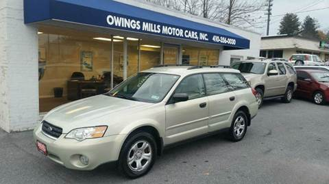 2007 Subaru Outback for sale in Owings Mills, MD
