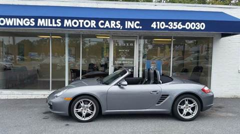 2006 Porsche Boxster for sale in Owings Mills, MD