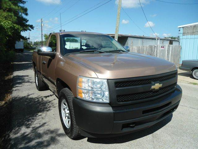 2009 chevrolet silverado 1500 4x4 work truck 2dr regular cab 6 5 ft sb in hattiesburg ms. Black Bedroom Furniture Sets. Home Design Ideas