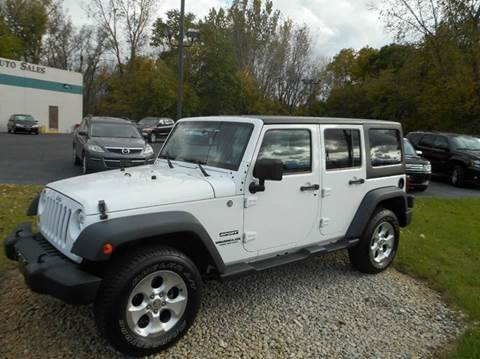 2012 Jeep Wrangler Unlimited for sale in Holland, MI